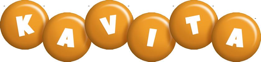 Kavita candy-orange logo