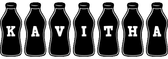 Kavitha bottle logo