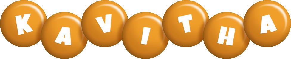 Kavitha candy-orange logo