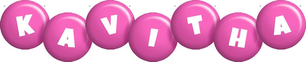 Kavitha candy-pink logo