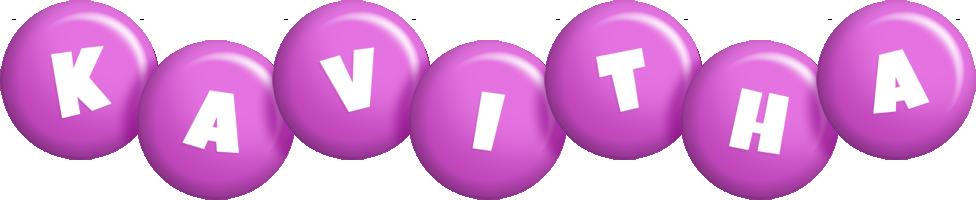 Kavitha candy-purple logo