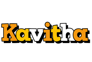 Kavitha cartoon logo
