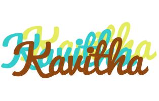 Kavitha cupcake logo