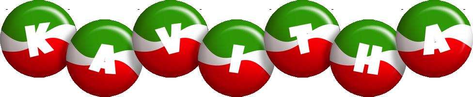 Kavitha italy logo