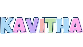 Kavitha pastel logo