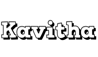 Kavitha snowing logo