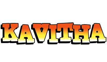 Kavitha sunset logo