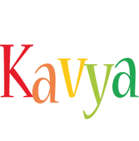 Kavya birthday logo