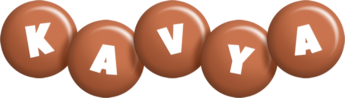 Kavya candy-brown logo