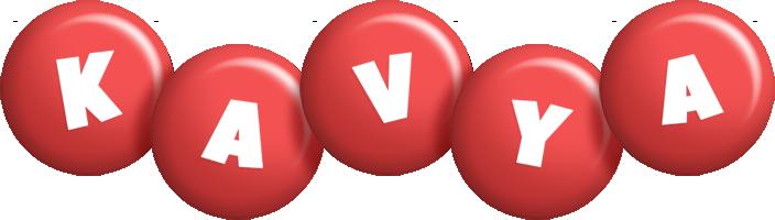 Kavya candy-red logo