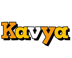 Kavya cartoon logo