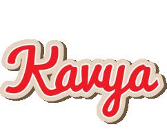Kavya chocolate logo