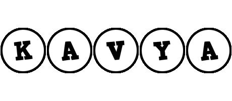 Kavya handy logo