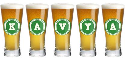Kavya lager logo