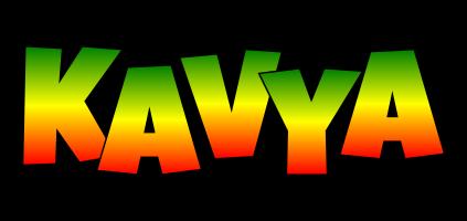 Kavya mango logo