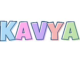 Kavya pastel logo