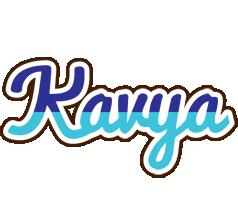 Kavya raining logo