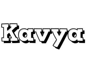Kavya snowing logo