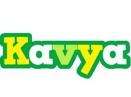 Kavya soccer logo