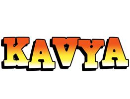 Kavya sunset logo