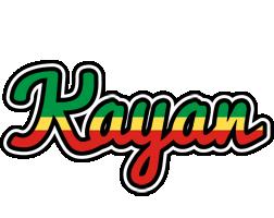 Kayan african logo