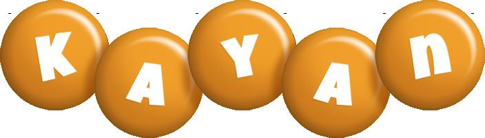 Kayan candy-orange logo
