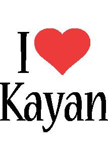 Kayan i-love logo