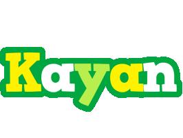 Kayan soccer logo
