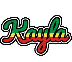 Kayla african logo