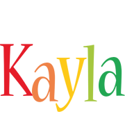 Kayla birthday logo