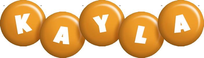 Kayla candy-orange logo