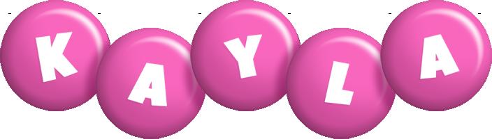 Kayla candy-pink logo