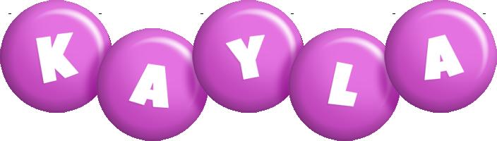 Kayla candy-purple logo
