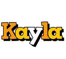 Kayla cartoon logo