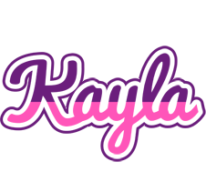 Kayla cheerful logo