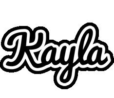 Kayla chess logo