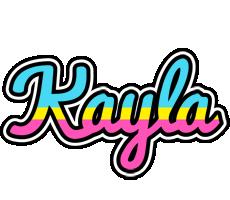 Kayla circus logo