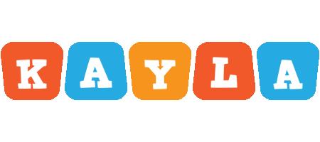 Kayla comics logo