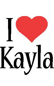 Kayla i-love logo