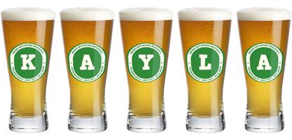 Kayla lager logo