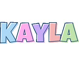 Kayla pastel logo