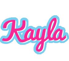 Kayla popstar logo