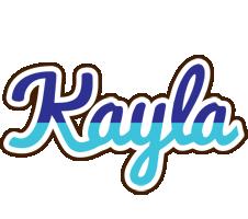 Kayla raining logo
