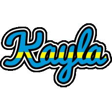 Kayla sweden logo