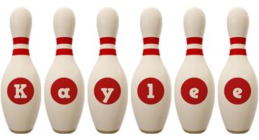 Kaylee bowling-pin logo