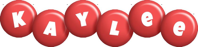 Kaylee candy-red logo