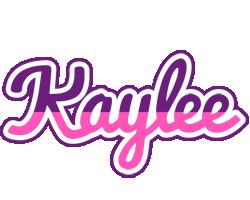 Kaylee cheerful logo