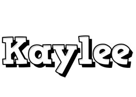 Kaylee snowing logo