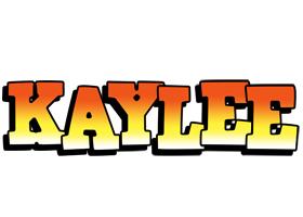 Kaylee sunset logo