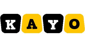 Kayo boots logo